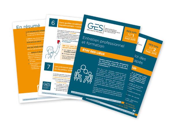 Création du livret GES Info