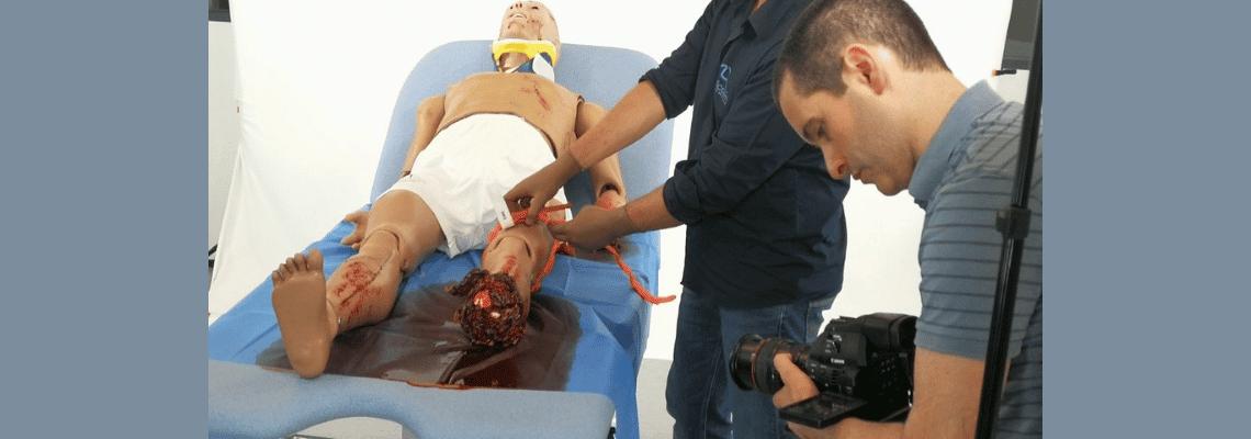 Réalisation de films techniques en simulation médicale