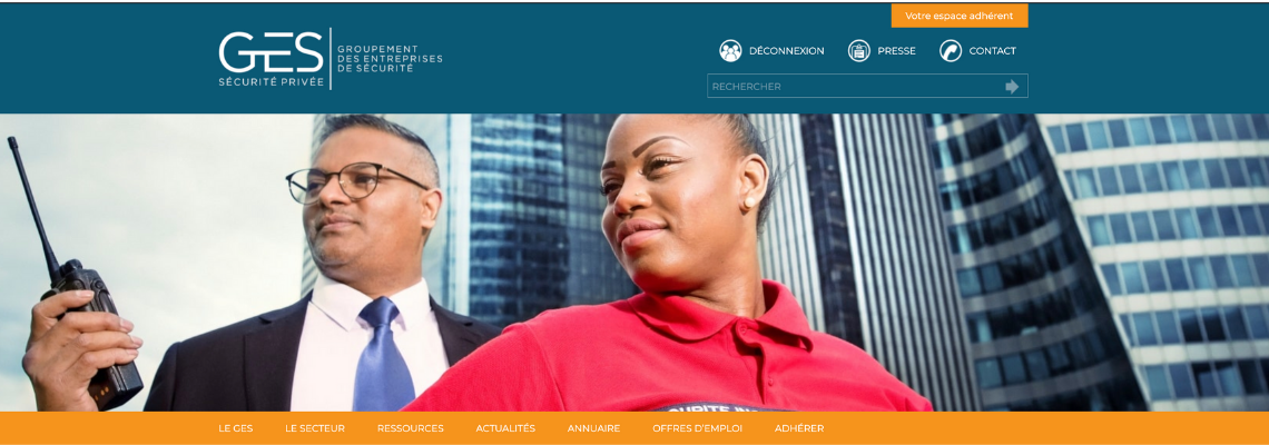 Le Groupement des Entreprises de Sécurité (GES) est le premier syndicat professionnel français des entreprises de prévention et de sécurité.