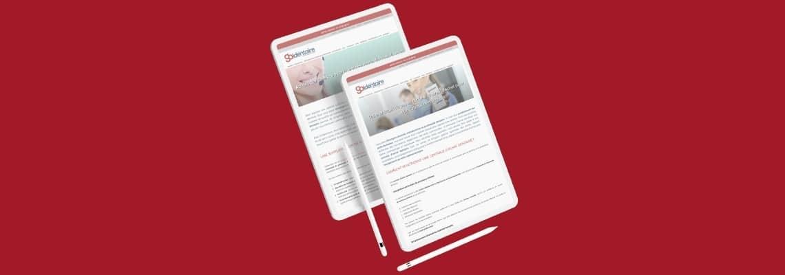 Stratégie de content marketing à destination des dentistes et orthodontistes